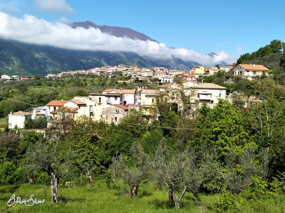 Forcella, Teil der Gemeinde Pescosolido.