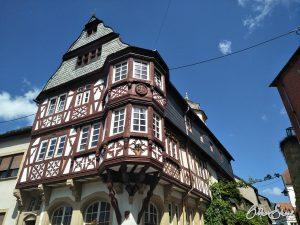 Haus in der Altstadt von Monzingen.