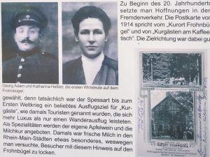 Bilder vom historischen Gasthaus am Frohnbügel.