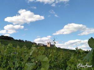Ziel des Rüdesheimer Hildegardweges: Abtei St. Hildegard in den Weinbergen oberhalb von Rüdesheim-Eibingen.