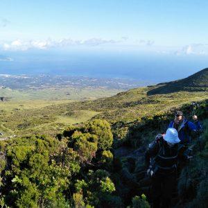 Wandern auf den Azoren.