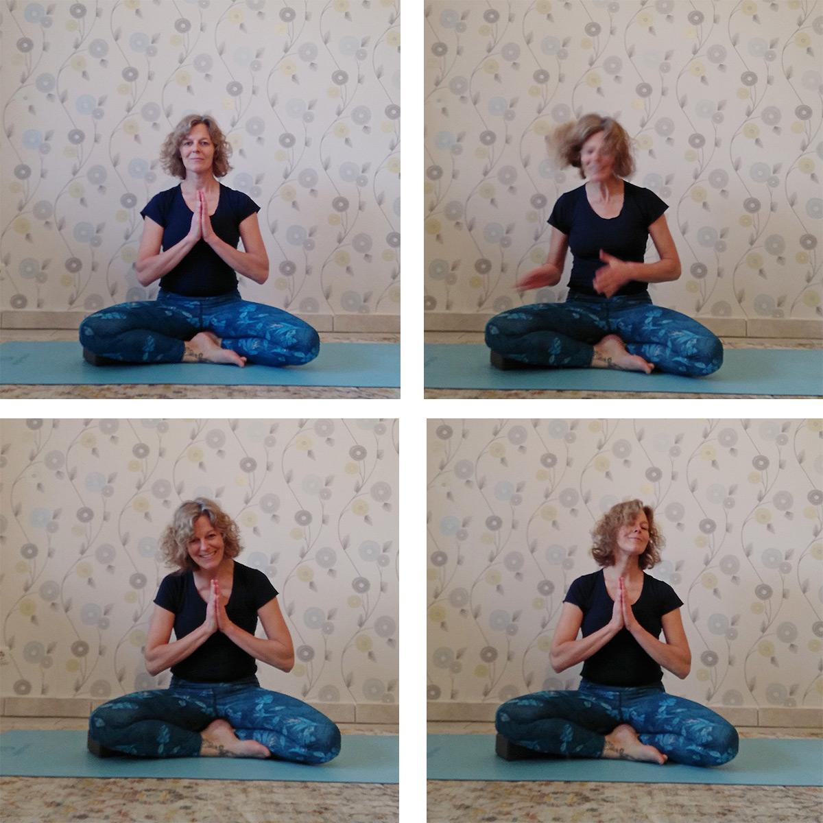 Dankbarkeit üben mit Yoga