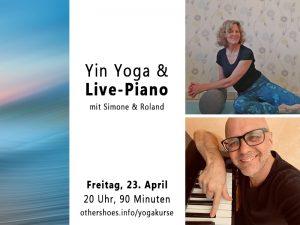 Yin Yoga & Live Klavier