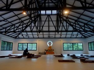 Brand new meditation hall on Koh Phangan.