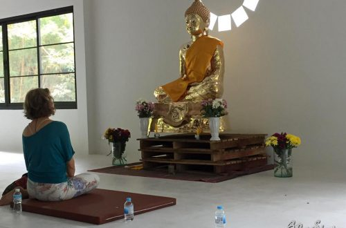 Me, myself and I and the Buddha.