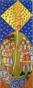 Tafel 12 auf dem Hildegardweg: Die Seele und ihr Zelt.