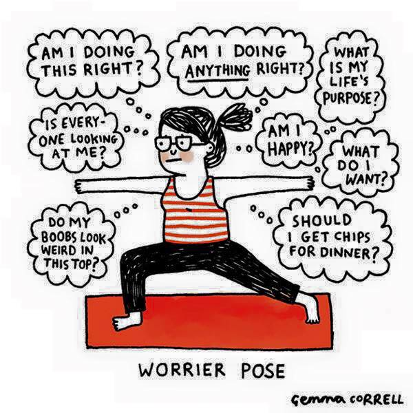 Worrier Pose.